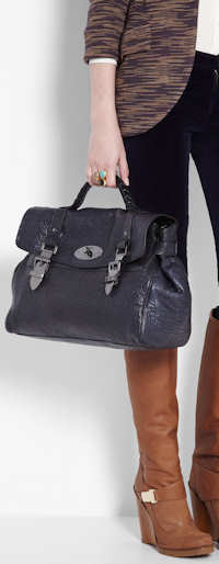 Mulberry Oversized Buckle Bag