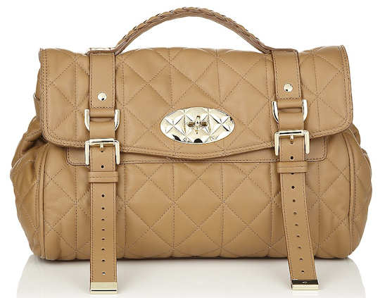 Mulberry Quilted Alexa Bag