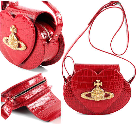 Vivienne Westwood Chancery Heart Orb Bag