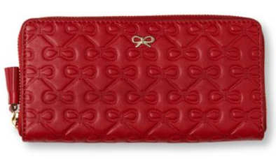Anya Hindmarch Red Maeve Purse