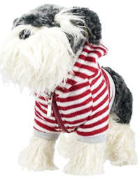 Fuzzy Nation Pepper Knit Schnauzer