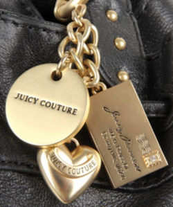 Juicy Couture East West Tote Handbag Charm