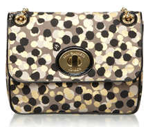 Lulu Guinness Confetti Print Large Annabelle Bag