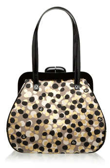 Lulu Guinness Confetti Print Medium Polyanna Bag
