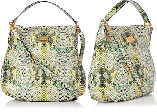 Marc by Marc Jacobs Hillier Hobo in Snake Print