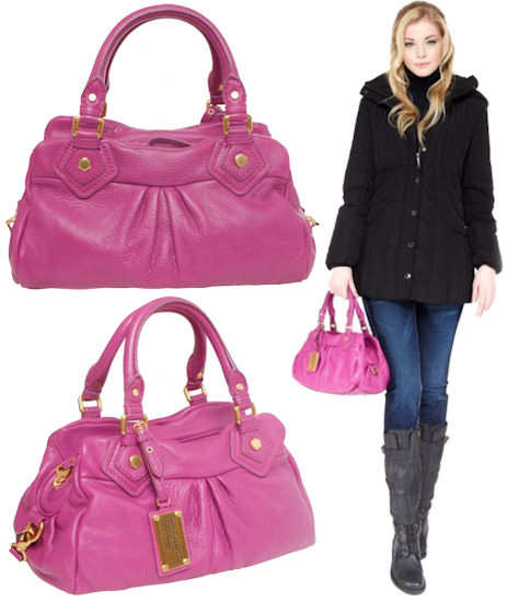 Marc by Marc Jacobs Pink Baby Groovee Bag