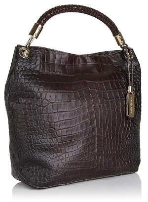 Michael Kors Skorpios Shoulder Bag in Plum
