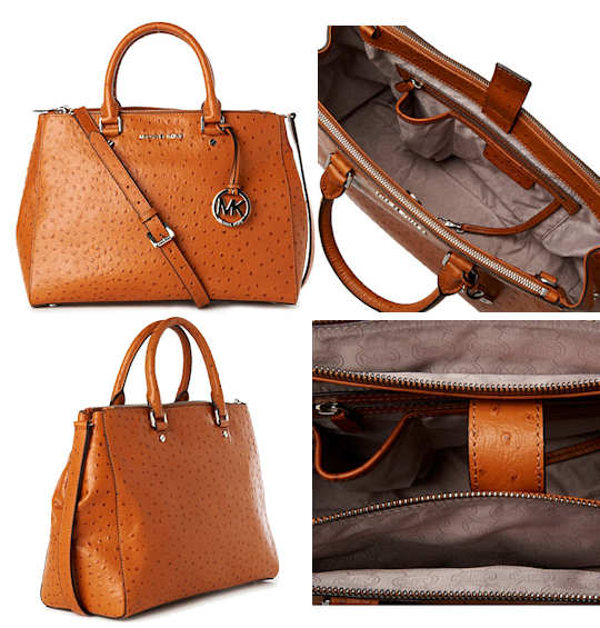 e0d4ad0bc1ec Buy michael kors bedford ostrich tote   OFF56% Discounted