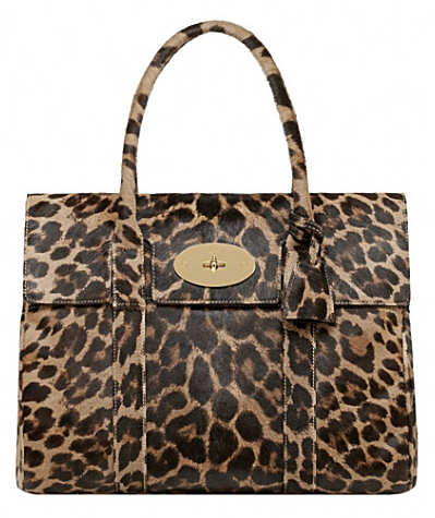 Mulberry Leopard Hair Calf Bayswater Bag