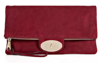 Mulberry Oversized Postman's Lock Clutch