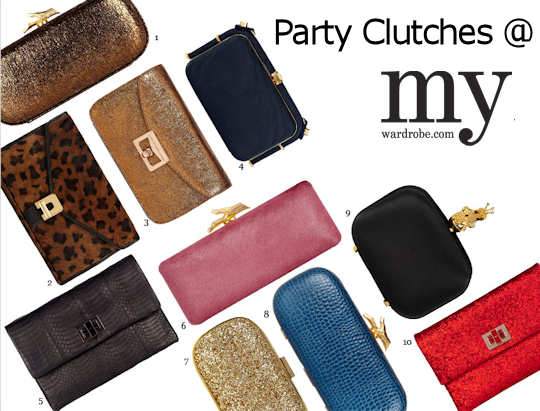 Designer Party Clutch Bags