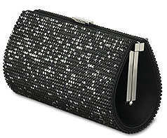 Swarovski Power Evening Bag in Black