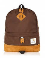 William Fox and Sons Coffee Brown Tear Drop Backpack