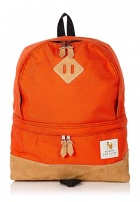 William Fox and Sons Mandarin Orange Tear Drop Backpack