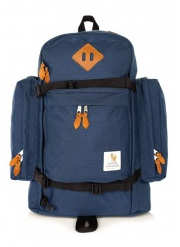 William Fox and Sons Navy Trail Backpack