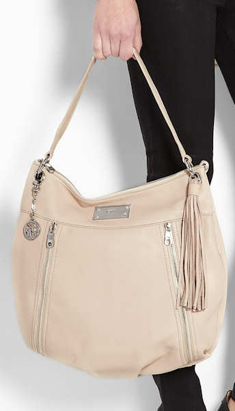 DKNY Large Hobo Zip Bag