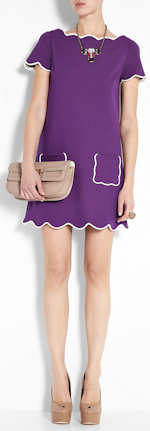 M Missoni Purple Dress