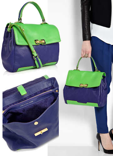 Marc by Marc Jacobs Memphis Colourblock Satchel