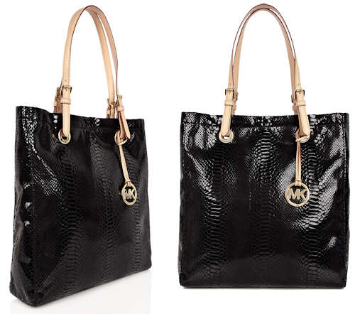 Michael by Michael Kors Jet Set Snakeskin Bag