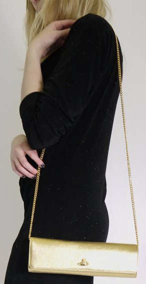 Vivienne Westwood Chatelaine Bag in Gold