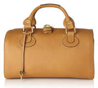Chloe Aurore Duffle Bag in Tan