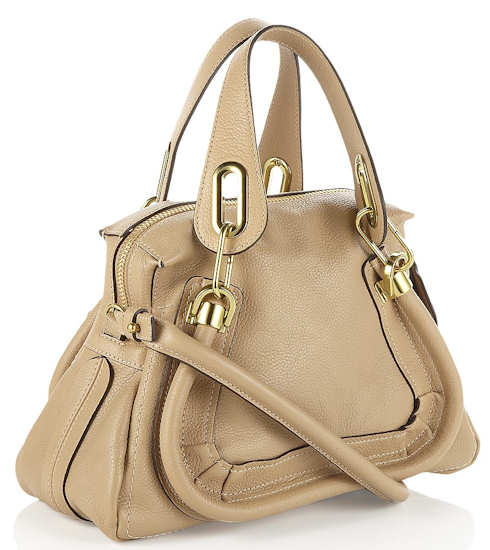 Chloe Paraty Tote in nude
