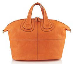 Givenchy Nightingale Orange Tote