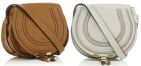 Marcie Mini Crossbody Bag in Tan or Dove Grey