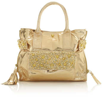 Sara Berman Gold Melody Bag