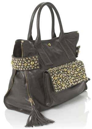 Sara Berman Grey Melody Bag