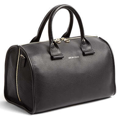 See by Chloe April Tote Bag in Black