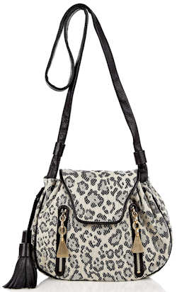 See by Chloe Leopard Shoulder Bag