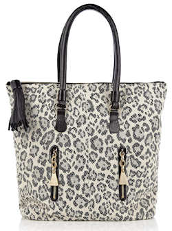 See by Chloe Leopard Tote Bag