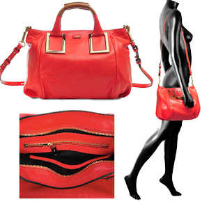 Chloe Ethel Bag Red