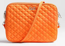 D&G Lily Glam Nylon Bag in Orange