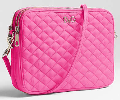 D&G Lily Glam Pink Nylon Mini Bag
