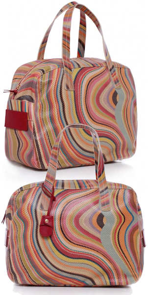 Paul Smith Bude Perforated Swirl Bag