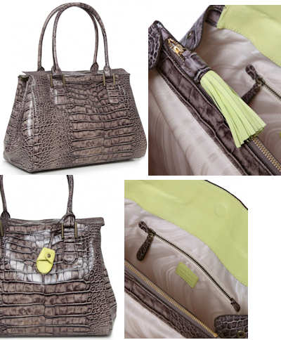 Paul Smith Globe Croc Bag 2012