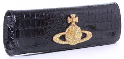 Vivienne Westwood Chancery Clutch Bag Black