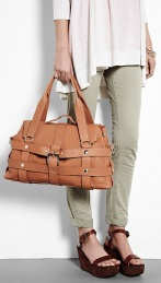 Cala and Jade Gumma Bag in Brown