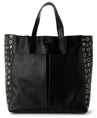 Anya Hindmarch Nevis Tote in Black