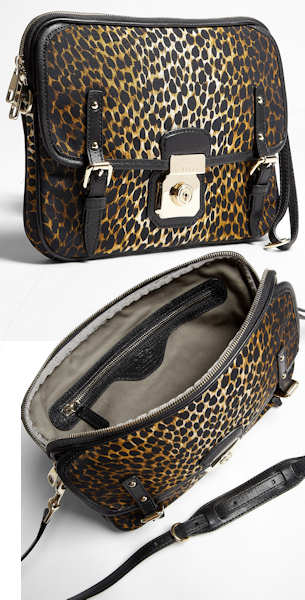 D&G Leopard Print Cross Body Bag