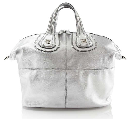 Givenchy Silver Nightingale Tote