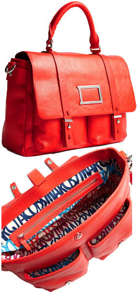 Marc by Marc Jacobs Red Werdie Satchel Bag