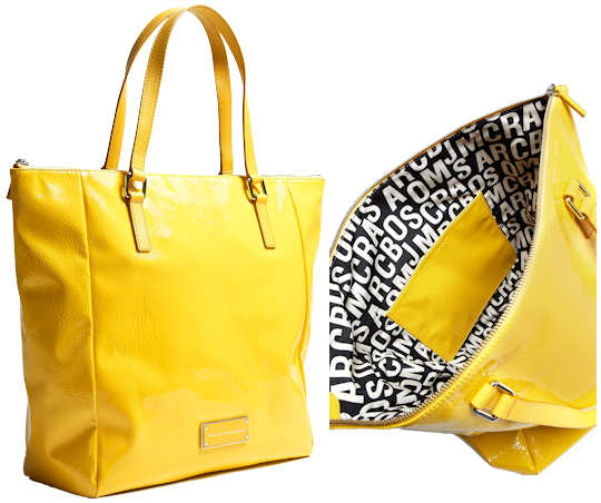 Marc by Marc Jacobs Take Me Tote in Yellow