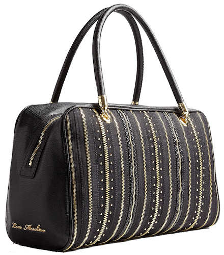 Love Moshino Zip Bowling Bag