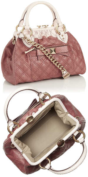 Marc Jacobs Python Mini Stam Bag