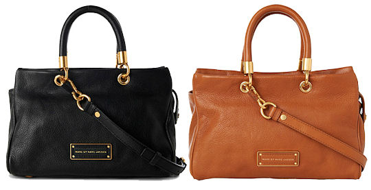 Marc By Jacobs Too Hot To Handle Bag In Black Or Tan