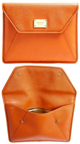 Michael by Michael Kors Orange Ipad Case