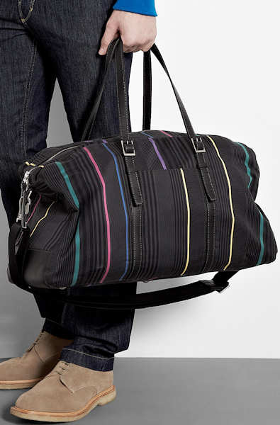 Paul Smith Boating Stripe Mallory Bag
